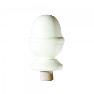 Richard Burbidge NC3/90W Trademark Primed Newel Cap Acorn 90mm