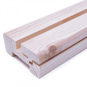 JWEB Pine or White Primed Baserail for Glass inc Beading 32mm x 69mm