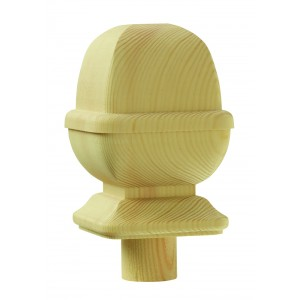 Richard Burbidge PNC/90P Trademark Pine Newel Cap Provincial 90mm