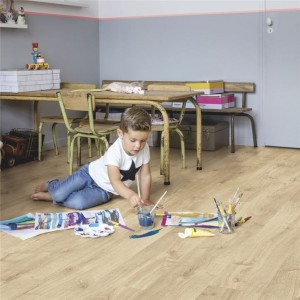 Quick-Step Luxury Vinyl (LVT) Livyn Pulse -Autumn Oak Light Nat -2.22m2 - PUCL40087