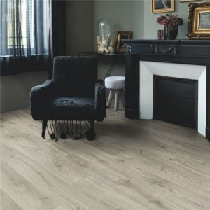 Quick-Step Luxury Vinyl (LVT) Livyn Pulse -Autumn Oak Warm Grey -2.22m2 - PUCL40089