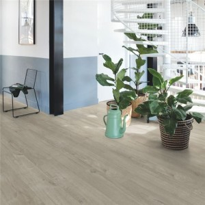 Quick-Step Luxury Vinyl (LVT) Livyn Pulse -Cotton Oak Warm Grey -2.22m2 - PUCL40105