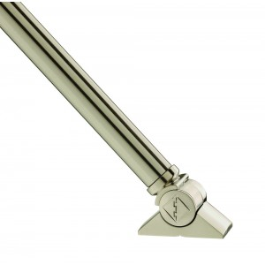 Richard Burbidge SBB10UK2 Fusion Brushed Nickel Spindle Mk2 Stairs - UK [10]