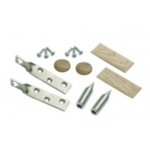 Richard Burbidge TBLKIT ELEMENTS Newel Fixing Landing Bracket - White Oak
