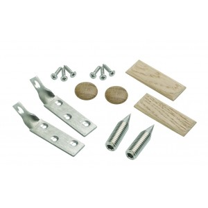 Richard Burbidge TBRKIT ELEMENTS Newel Fixing Stair Bracket - White Oak
