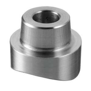 Q-Railing - Adapter for glass adapter Q-spider, tube Dia 42.4 mm, stainless steel 304 interior, satin [PK2]- [13072404212]