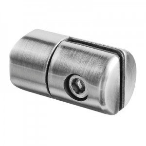 Q-Railing - Clamp, for 1.5 up to 4 mm plate, Dia 25 mm, tube Dia 33.7 mm, stainless steel 304 interior, satin [PK4]- [13074303312]