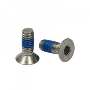 Q-Railing - Hexagon socket countersunk head screw, QS-43, M6 x 16 mm, DIN 7991, steel, zinc plated, Real-Loc - [PK Qty 50]- [95067061615] 250670-616