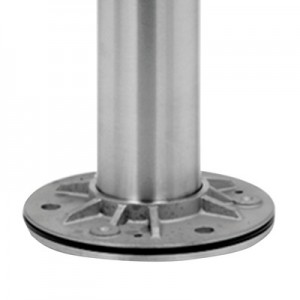 Q-Railing - Baluster post, MOD 0912, Dia 42.4 mm x 2 mm, H=989 mm, stainless steel 304 interior, satin