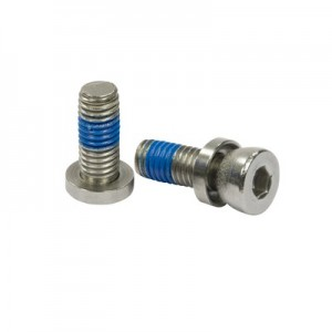 Q-Railing - Adjustable screw for glass clamp, QS-46, M8 x 20 mm, steel, zinc plated