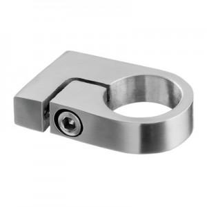 Q-Railing - Tube clamp, tube Dia 33.7 mm, L=35 mm, stainless steel 304 interior, satin [PK2]- [13350703312]