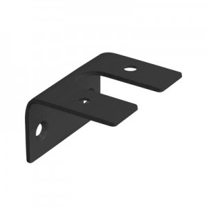 Q-Railing - Adapter for glass frame profile, Easy Alu,aluminium, anthracite grey RAL 7016 [PK4]