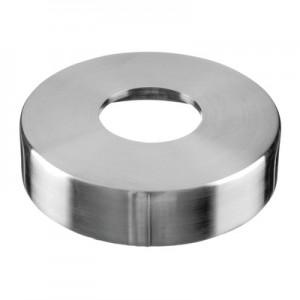 Q-Railing - Cover cap for welding flange MOD 3502, tube Dia 42.4 mm, Dia 110 mm, stainless steel 304 interior, satin [PK2]