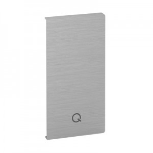 Q-Railing - End cap, Easy Glass Smart, fascia mount, left, aluminium, raw