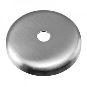 Q-Railing - Cover cap, bar Dia 12 mm, Dia 76 x 12 mm, stainless steel 304 interior, satin [PK2]