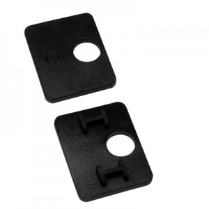 Q-Railing - Rubber inlay for glass clamp MOD 26, for (4-0,76-4) 8.76 mm laminated glass [PK8]- [19501100900]