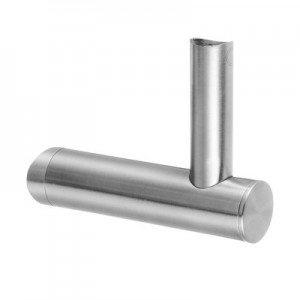 Q-Railing - Adjustable handrail bracket for tube, Dia 42.4 mm, handrail Dia 42.4 & 48.3 mm, stainl. steel 304 interior, satin [PK2]
