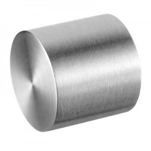 Q-Railing - Flat end cap, bar Dia 12 mm, stainless steel 304 interior, satin [PK4]