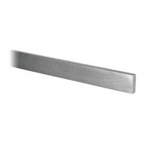 Q-Railing - Bar, 15 mm x 5 mm, L=2500 mm, stainless steel 316 exterior, satin