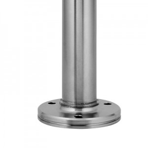 Q-Railing - Baluster post, MOD 0917, Dia48.3 mm x 4,6 mm,H=1089 mm, stainless steel 316, satin