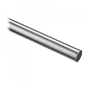 Q-Railing - Tube, Dia 16 mm x 1 mm, L=2500 mm, stainless steel 304 interior, satin - [13892501612]