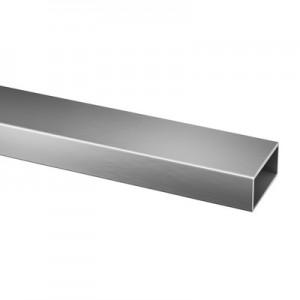 Q-Railing - Rectangular tube, 60x30x2.6 mm, L=5000 mm, stainless steel 316 exterior, satin