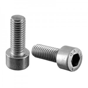 Q-Railing - Hexagon socket head cap screw, QS-27, M8 x 20 mm, DIN 912/ISO 4762, A4-70, Real-Loc - [PK Qty 50]- [95068082014] 240680-820