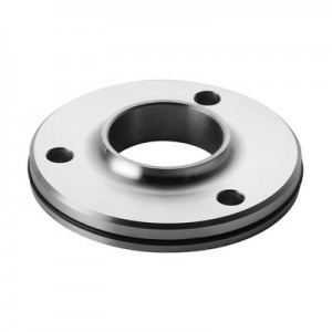 Q-Railing - Welding flange for tube, Dia48.3 mm,stainless steel 316, untreated [PK2]- [14350504800]
