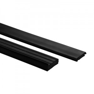 Q-Railing - Rubber set, Easy Glass View, L=2x1100 mm, for 12 mm glass