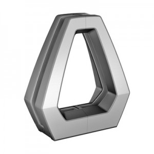 Q-Railing - Easy Glass Air, base glass clamp,for 15-21.52 mm glass, stainless steel 316, satin