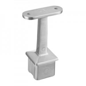 Q-Railing - Straight saddle, Square Line, 40x40x2 mm, handrail flat, stainless steel 304 interior, satin [PK2]