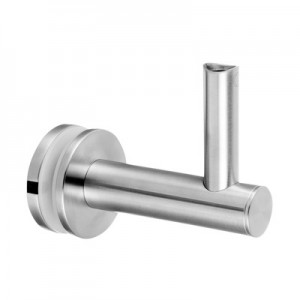 Q-Railing - Adjustable handrail bracket for glass, handrail Dia 42.4 & 48.3 mm, stainl. steel 304 interior, satin [PK2]