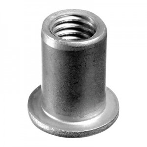 Q-Railing - Blind rivet nut with socket head, QS-81, M8 x 17 mm, A4-70