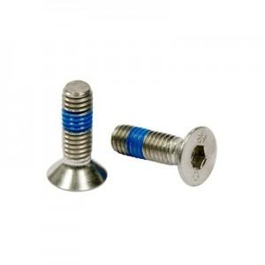 Q-Railing - Hexagon socket countersunk head screw, QS-205, M6 x 8 mm, DIN 7991, A4-70, Real-Loc - [PK Qty 50]- [95067060814] 240670-608