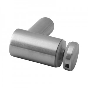 Q-Railing - Glass adapter, flat, 8 - 16.76 mm glass, stainless steel 316 exterior, satin MOD 0754[PK4]- [14075400012]