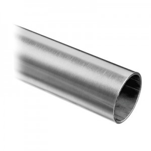 Q-Railing - Tube, Dia 33.7 mm x 2 mm, L=5000 mm, stainless steel 316 exterior, satin