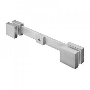 Q-Railing - Glass adapter Q-spider, double arm, 40x40 mm, 8 - 13.52 mm glass, stainless steel 304 interior, satin [PK2]- [13475200012]
