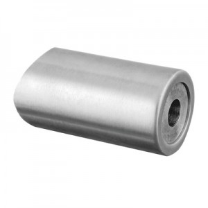 Q-Railing - Spacer with blind connection, tube Dia 33.7 mm, stainless steel 304 interior, satin [PK4]- [13062503312]