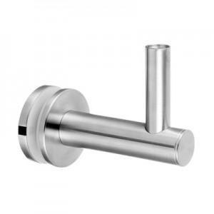 Q-Railing - Adjustable handrail bracket for glass, handrail flat, stainless steel 304 interior, satin [PK2]