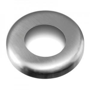 Q-Railing - Cover cap, tube Dia 33.7 mm, Dia 85 x 12 mm, stainless steel 304 interior, satin [PK2]