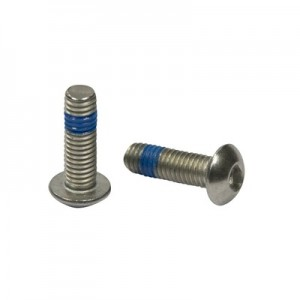 Q-Railing - Hexagon socket button head screw, QS-203, M5 x 10 mm, ISO 7380, A4-70, Real-Loc - [PK Qty 50]- [95051151014] 240690-510