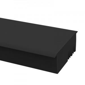 Q-Railing - Cover - intermediate rubber, Easy Glass Pro, rubber profile, L=2500 mm