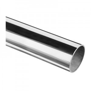 Q-Railing - Tube, Dia 42.4 mm x 2 mm, L=5000 mm, stainless steel 304 interior, polished