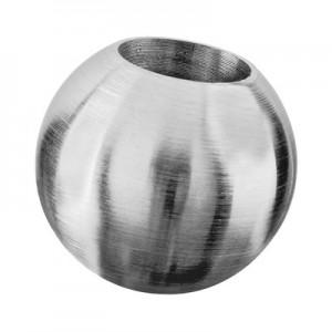 Q-Railing - Ball top, Dia 20 mm, bar Dia 10 mm, stainless steel 304 interior, satin [PK6]