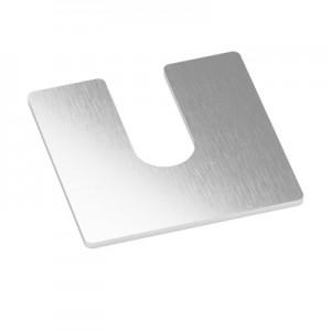 Q-Railing - Shims for Easy Glass Prime,70x70 mm, 2 mm thickness [PK100]