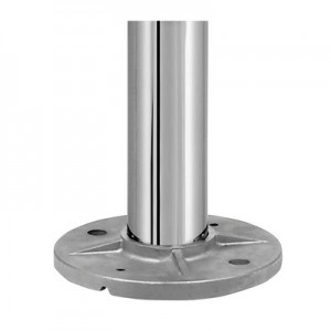 Q-Railing - Baluster post, MOD 0914, Dia 42.4 mm x 2 mm, H=970 mm, stainless steel 304 interior, polished