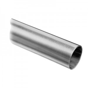 Q-Railing - Tube, Dia 42.4 mm x 2 mm, L=2500 mm, stainless steel 304 interior, satin