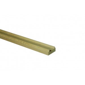 Richard Burbidge WOBR2400/32 Trademark White Oak Baserail 2400/32mm