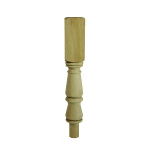 Richard Burbidge WONT202 Trademark White Oak Tulip Winder Newel Turning 90x497mm