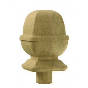 Richard Burbidge WOPNC/90 Trademark White Oak Provincial Newel Cap 90mm